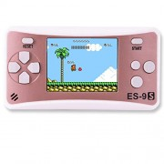 Zhishan Handheld Game Console for Children Built in 168 Classic Old Games Retro Arcade Gaming Player Portable Playstation Boy Birthday Or Xmas (Rose Gold)