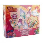 Jucarie Trolls luminosi de colorat