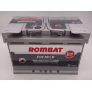 Rombat Premier 12V 75Ah 750A L3 baterie auto 3 ani garantie cod 5752330075