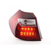 FK-Automotive Led Taillights BMW serie 1 E87/E81 3/5-Dr. Yr. 04-06 clear/red