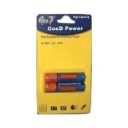 Batteria ministilo AAA Ricaricabili NI-MH 2100mAh