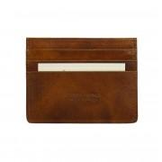 Florence Leather Market Porta carte di credito semplice V (PC076)