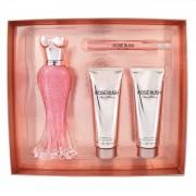 Set Paris Hilton Rose Rush 4 Pzs 100 Ml Eau De Parfum Spray + Body Lotion 90 Ml + Shower Gel 90 Ml + 10 Ml Eau De Parfum Spray De Paris Hilton