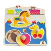 Jucarie eco din lemn Puzzle My Toys Hape