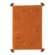 【68%OFF】ギャベ ラグ・マット LORRI BUFFD OR オレンジ 45x75 インテリア・家具 > 敷物~~ラグ