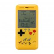 Rs-99 Tetris Clasico Retro Consola De Juegos Portatil, Pantalla De 3,5 Pulgadas, Construido En 36 Tipos De Juegos (Amarillo)