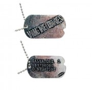 Vampire Diaries Salvatore D. Dog Tag Necklace TV Show