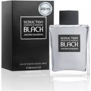 Antonio banderas seduction in black 200 ml eau de toilette edt profumo uomo