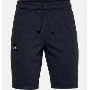 Under Armour Jongensshorts UA Rival Fleece Logo - Boys - Black - Grootte: YXS