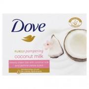 Dove Săpun-cremă Purely Pampering cu aroma de lapte de cocos si iasomie (Beauty Cream) 100 g