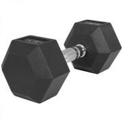 Gorilla Sports clone_Dumbell 12,5 kg (1 x 12,5 kg) Hexagon Rubber