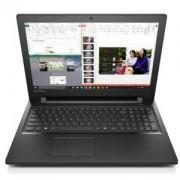 Лаптоп LENOVO 300-15IBR / 80M300LRBM, Intel Celeron N3060, 4GB, 1TB, Черен