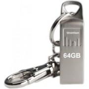 Strontium Ammo USB 2.0 64 GB Pen Drive(Silver)