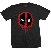 Rock Off Deadpool - Splat Icon T-Shirt