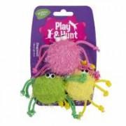Färgglada spindlar 3st (6-pack)