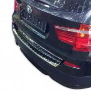[pro.tec]® Película protector umbral trasero coche - para BMW X3 (serie de modelos F25, a partir de 2010) lacado / para-choques