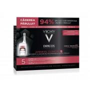 Tratament impotriva caderii parului pentru barbati Vichy Dercos Aminexil Clinical 5 (Concentratie: Tratamente pentru par, Gramaj: 21 Fiole)