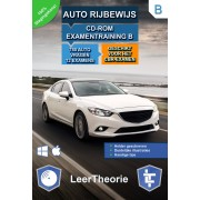 Auto Rijbewijs B - CD-ROM Auto Examentraining B - 845 oefenvragen - 13 Theorie Examens - Ontworpen voor het CBR theorie-examen 2019