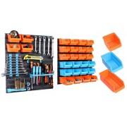 Fali csavar és szerszámrendező készlet (43db-os)