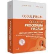 Codul fiscal si Codul de procedura fiscala - Aprilie 2018