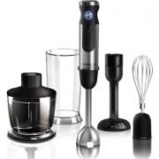 Redmond RHB-2925-E 1350 W Hand Blender, Chopper, Electric Whisk(Black, Silver)