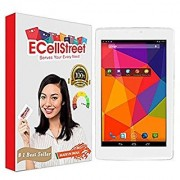 ECellStreet Tempered Glass Toughened Glass Screen Protector For iBall 2G 7227 Tablet