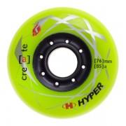 Set 4 Roti Hyper Create +G Lime 76mm/85a