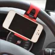 Suport auto de volan pentru telefon/GPS
