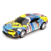2233 1/20 4WD Graffiti Version 2.4GHz High-speed Racing Vehicle Off-Road Drift RC Car Toys