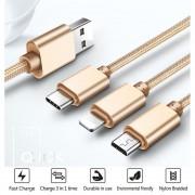 Macho C Micro USB Para Teléfono Inteligente, IPhone, IPad Y Android