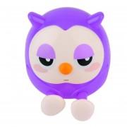 EH Owl Diferente Titular Dinero Almacenamiento Latas--Púrpura