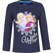 Disney Kindershirt Anna en Elsa blauw