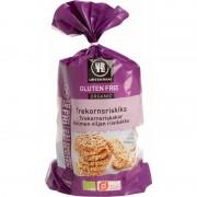 Urtekram Trekornsriskex Glutenfri EKO 100 g Snack