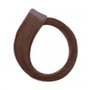 Rapunzel® Hair extensions Quick & Easy Original Glatt 5.0 Brown 50 cm