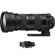 Sigma 150-600mm Obiectiv Foto DSLR F5-6.3 DG HSM OS Sports Kit cu TC-1401 1.4x Montura Canon EF