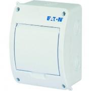 Tablou electric 1 rand 5 module, Eaton, capac alb