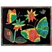 Melissa & Doug Scatch Art Paper - 50 Multicolor Sheets