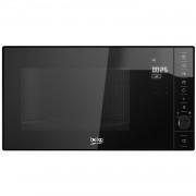 Cuptor cu microunde incorporabil Beko MOB20231BG, 20 l, 800 W, Touch Control, Timer digital, Negru/Inox