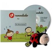 Namenslieder Personalisierbare Namenslieder CD1 + Kuscheltier Kasimir