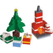 Lego 40009 Christmas Tree Presents and Fireplace
