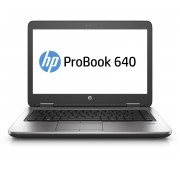 HP ProBook 640 G2 i5-6200U / 14 FHD SVA AG WWAN / 8GB 1D DDR4 / 256GB TLC / W7p64W10p / DVD+-RW / 1yw / Webcam720p / kbd TP / Intel 8260 AC 2x2+BT 4.2 / FPR / No NFC (QWERTY)