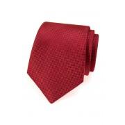 Strukturovaná kravata pro muže červená Avantgard 559-483