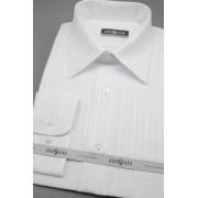 Pánská košile KLASIK dlouhý rukáv Bílá 527-90001-38/182