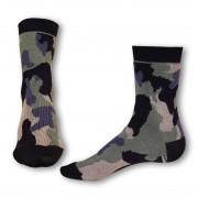 Styx Ponožky Styx crazy khaki maskáč (H327) L