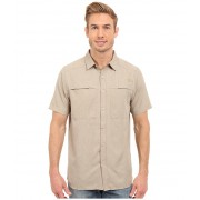 The North Face Short Sleeve Traverse Shirt Dune Beige Heather (Prior Season)