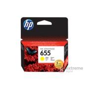 Cartuş cerneală HP 655 Ink Advantage (CZ112AE), galben