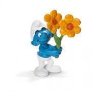Schleich Thank You Smurf Toy Figure