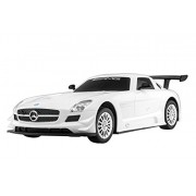 Double Star 1:16 Remote Control Rc Car Rechargable Mercedes Benz SLS AMG Gt3 White