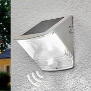 Brenenstuhl Aplique de pared LED solar SOL 04 IP44 blanco