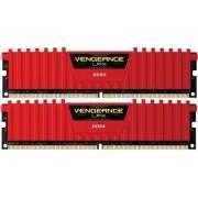 Kit Memorie Corsair Vengeance LPX Red 32GB 2x16 DDR4 3000MHz CL15 Dual Channel